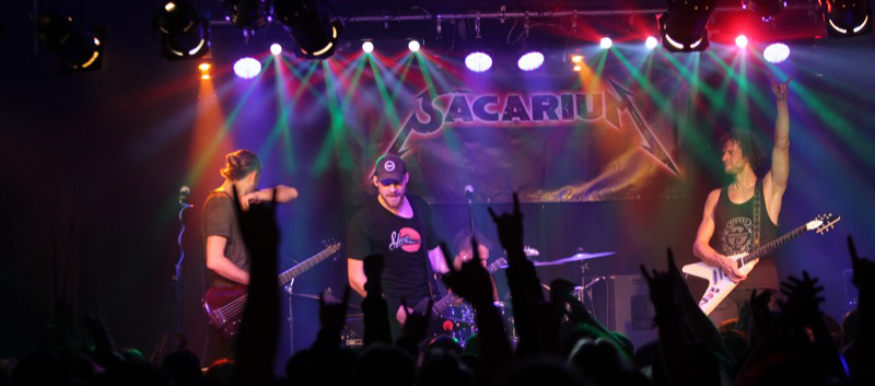 METALLICA NIGHT<br>PLAYED BY SACARIUM<br>SAMSTAG 14. DEZEMBER 2019